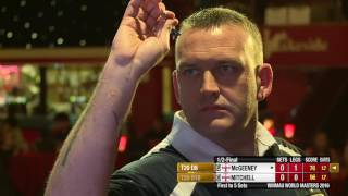 Darts World Masters 2016 Semi Final Mitchell vs McGeeney