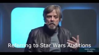 Mark Hamill At Star Wars Celebration 2016 (Highlights)