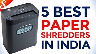 5 Best Paper Shredders in India with Price