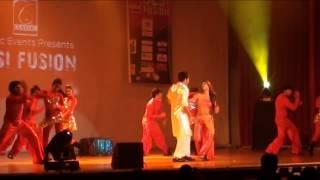 Desi Fusion Presents Karan Tacker and Krystle D'souza performing on Diliwali Girlfriend
