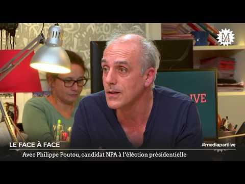 Philippe Poutou face à la rédaction