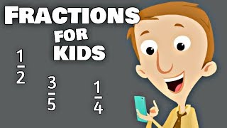 Fractions for Kids   Math Learning Video