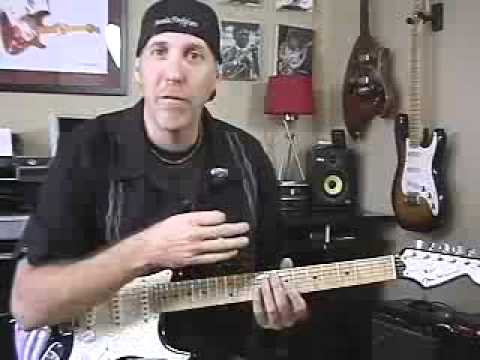 How to play Guitar  natural harmonics and bell like tones