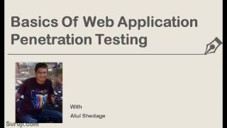 Lec 0: Basics of Web Application Penetration Testing - Udemy Top Rated Course 2016