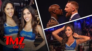 Meet The Very Hot Ring Girls For The Mayweather Vs. McGregor Fight | TMZ TV