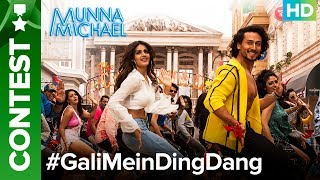 Do #GaliMeinDingDang Contest with Tiger Shroff & Niddhi Agerwal