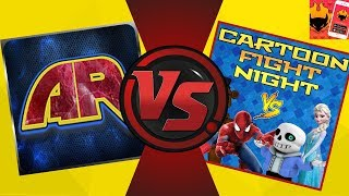 CARTOON FIGHT CLUB vs CARTOON FIGHT NIGHT! iRoast Challenge!
