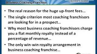 Business Coaching Franchise Buyer's Guide