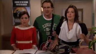 How I Met Your Mother - Ted Car Crash