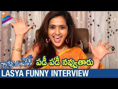 Lasya about her work experience in Raja Meeru Keka Movie   Anchor Lasya   Telugu Filmnagar