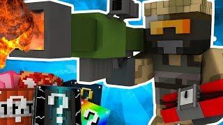 Dansk Minecraft: Lucky Block Race - FARLIGT MISSIL?!