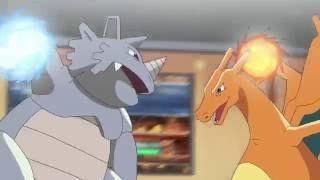 Pokemon Red vs Giovanni HD