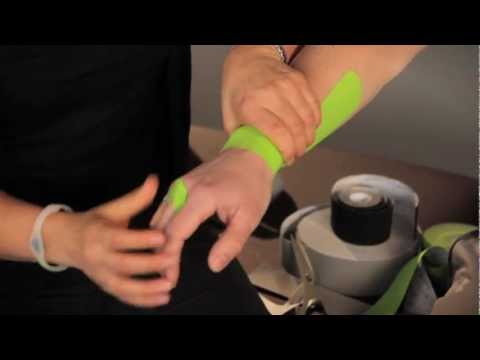 PerformTex Tape.  How To Tape for Carpal Tunnel Support and Pain