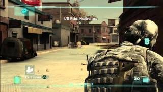Ghost Recon: Advanced Warfighter 2 - First 15 Minutes LIVE [HD] Gameplay