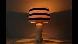 How To Make lampshade with plastic Bottle | Diy Useful Idea