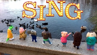 SING! TOYS! SEE DUCKS! PLAY at SPIN PARK! Johnny JUMPS in the WATER!😀😀