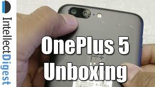 OnePlus 5 India Retail Unit Unboxing