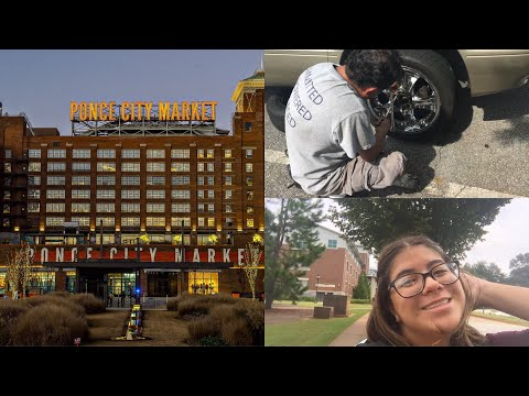 Xxx Mp4 Getting A FLAT Tire At SCHOOL Shopping At Ponce City Market VLOG 3gp Sex