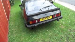 1984 Ford Capri 2.8i injection V6 black