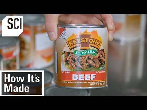 How Factories Produce Canned Meat How It s Made