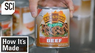 How Factories Produce Canned Meat | How It