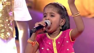 Super Singer Junior - Naan Pudicha Maapilai Thaan by Sajini