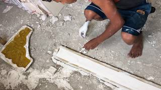 Making Gypsum Design | Wall Decor | Easy to make