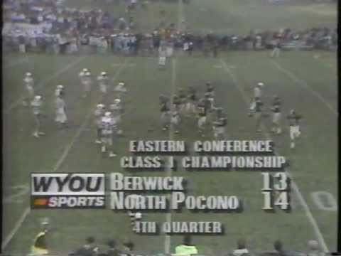 1991 Eastern Conference Final Berwick Bulldogs Vs. North Pocono Trojans