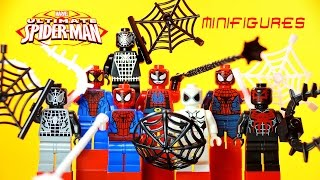 LEGO Ultimate Spider-Man KnockOff Minifigures Set 3 + Future Foundation Spider-Man