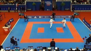 Paris Karate Open 2018 - Kumite Final - Rafael Aghayev vs Ken Nishimura