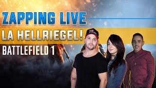 Zapping Live! La Hellriegel : la meilleure arme de Battlfield 1 (Pinkgeek et Kélimero)