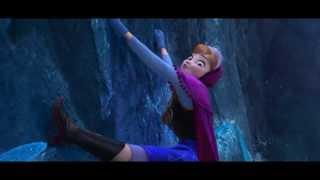 Frozen - Anna Tries To Climb A Mountain (720p)