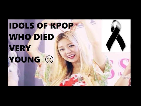 Xxx Mp4 IDOLS OF KPOP WHO DIED VERY YOUNG 4 3gp Sex