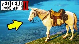 *SECRET* LEGENDARY GOLD HORSE in Red Dead Redemption 2! RDR2 Best Horse Tips!
