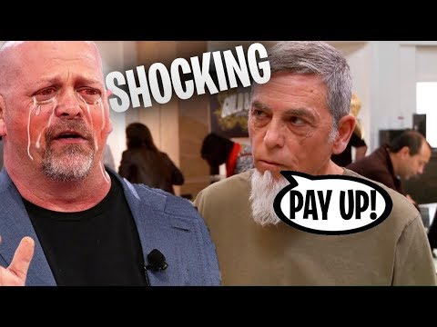 The Worst Scam in Pawn Stars History RICK IS SCREWED