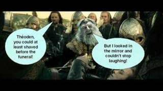 Lord of the Rings... has gone weird!!!