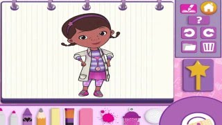 Doc McStuffins ♡ Color and Play Disney Junior ♡ 3D Animated Coloring Book