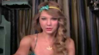 Taylor Swift Live WebChat  07/20/10 (Part 1)