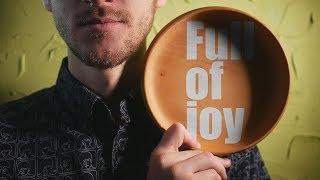 Wooden bowl full of joy ASMR - binaural, no talking -