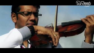 Tum Hi Ho - Aashiqui-2 / A Heart Touching Instrumental 🎻Sandeep Thakur....... Zakir!