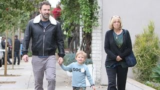 Ben Affleck Enjoys A Happy Morning With Mom And Son Samuel