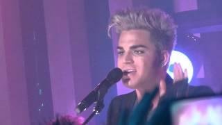 Adam Lambert Live - Shady - Sydney Australia - 22 Aug 2012  Take40 Live Lounge (Fancam)