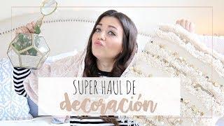 SUPER HAUL de DECORACIÓN ♡ | muebles, textiles... | Rebeca Chamorro