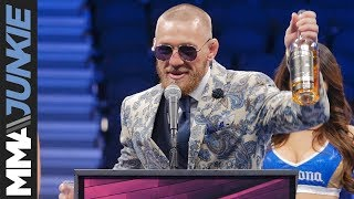 Conor McGregor's full post-fight interview after his defeat to Floyd Mayweather