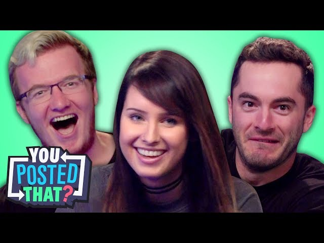 CaptainSparklez, Mini Ladd, and OMGItsFirefoxx | You Posted That?