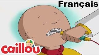 Caillou en FRANÇAIS: Caillou Chez Le Dentiste   conte pour enfant