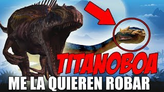 ME ROBAN LA TITANOBOA! TORNEO TITANOBOA JURASSIC WORLD El Juego #205
