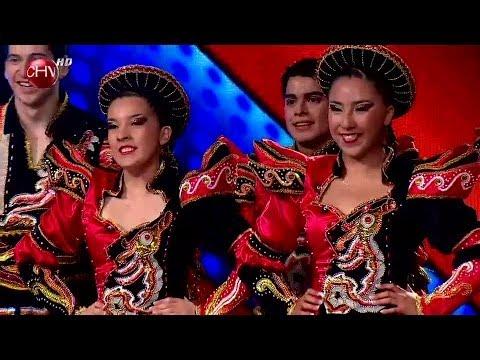 El grupo Trapem de Rancagua trae toda la energía de la danza caporal TALENTO CHILENO 2014