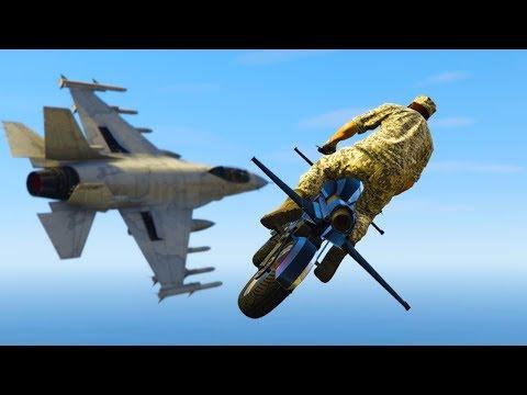 GTA V - RANDOM & FUNNY MOMENTS 68 (Rocket Bike, Funny Cutscenes)
