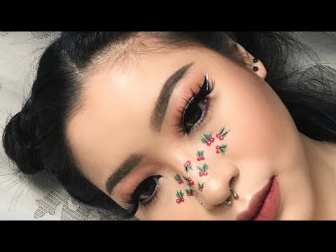 Mistletoe Freckles Tutorial | Marcella Febrianne